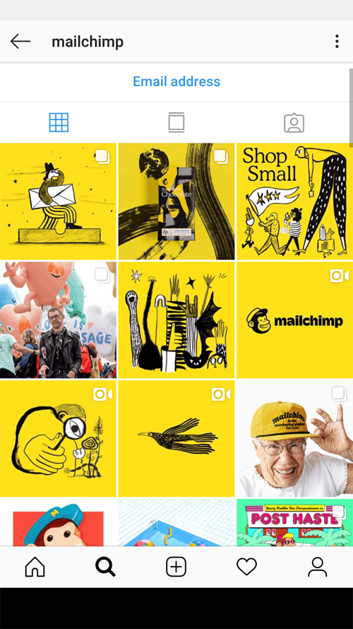 mailchimp-instagram-screenshot