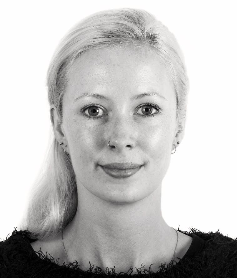 Aoife McGuinness headshot in black & white
