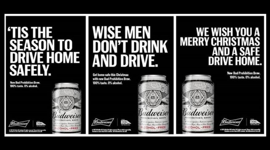 Budweiser prohibition
