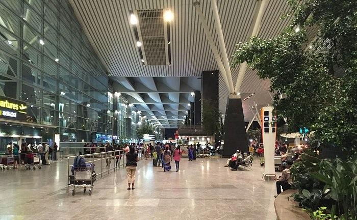 Photograph of Kempegowda International Airport in Bengaluru, India