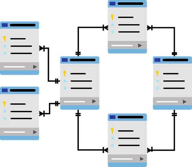 database graphic
