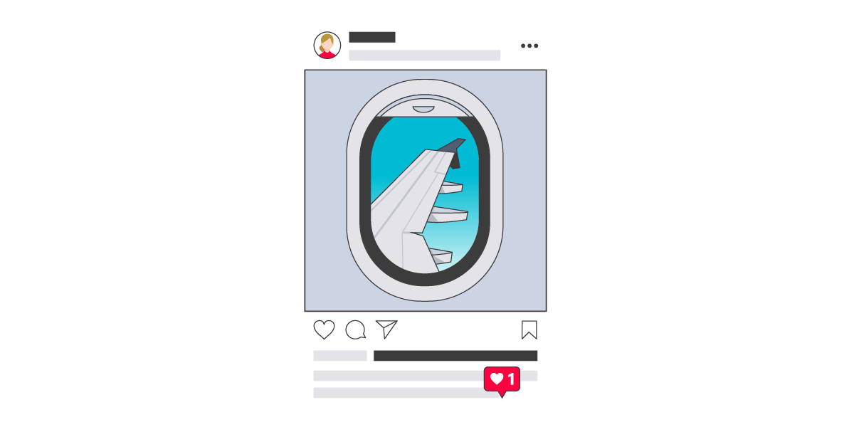 Instagram travel social media