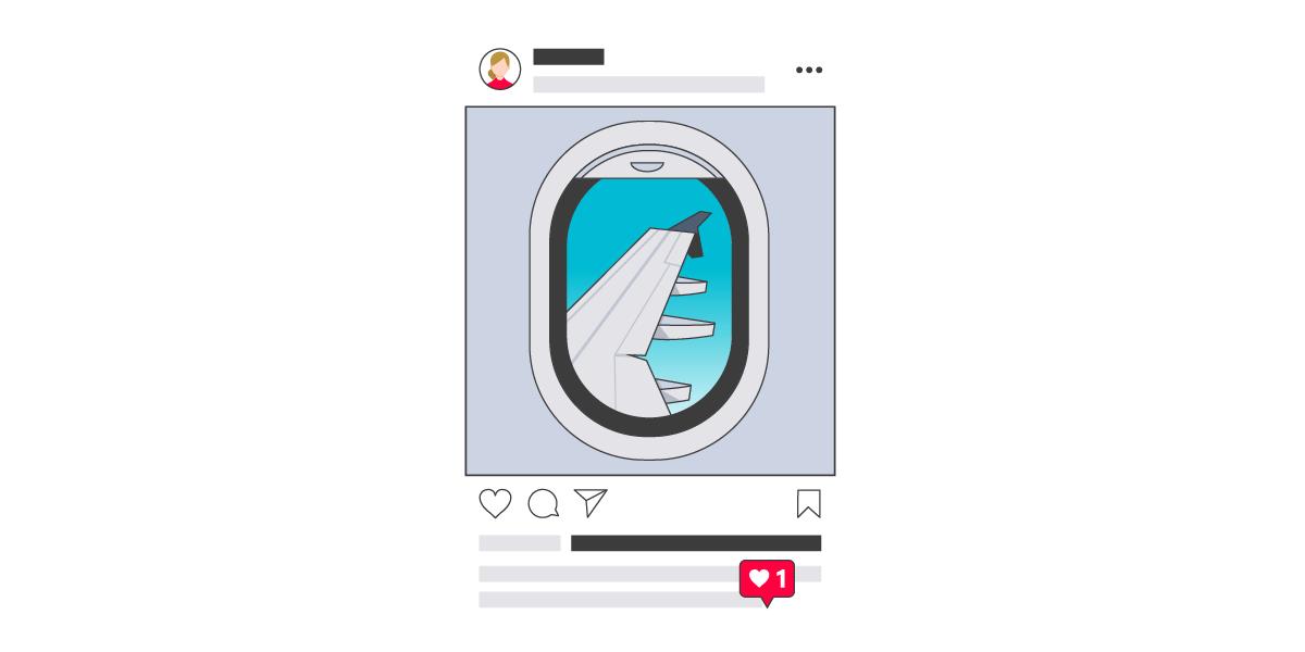 Instagram travel social media