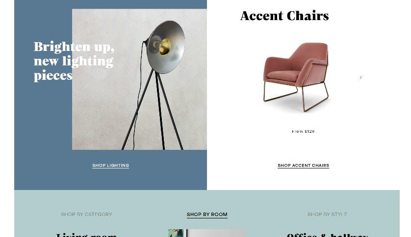 made.com screenshot 2