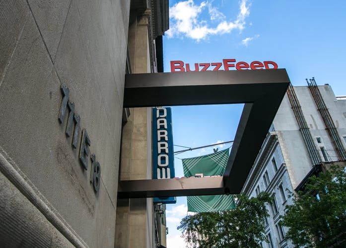 BuzzFeed's restructure puts focus on commerce & brand