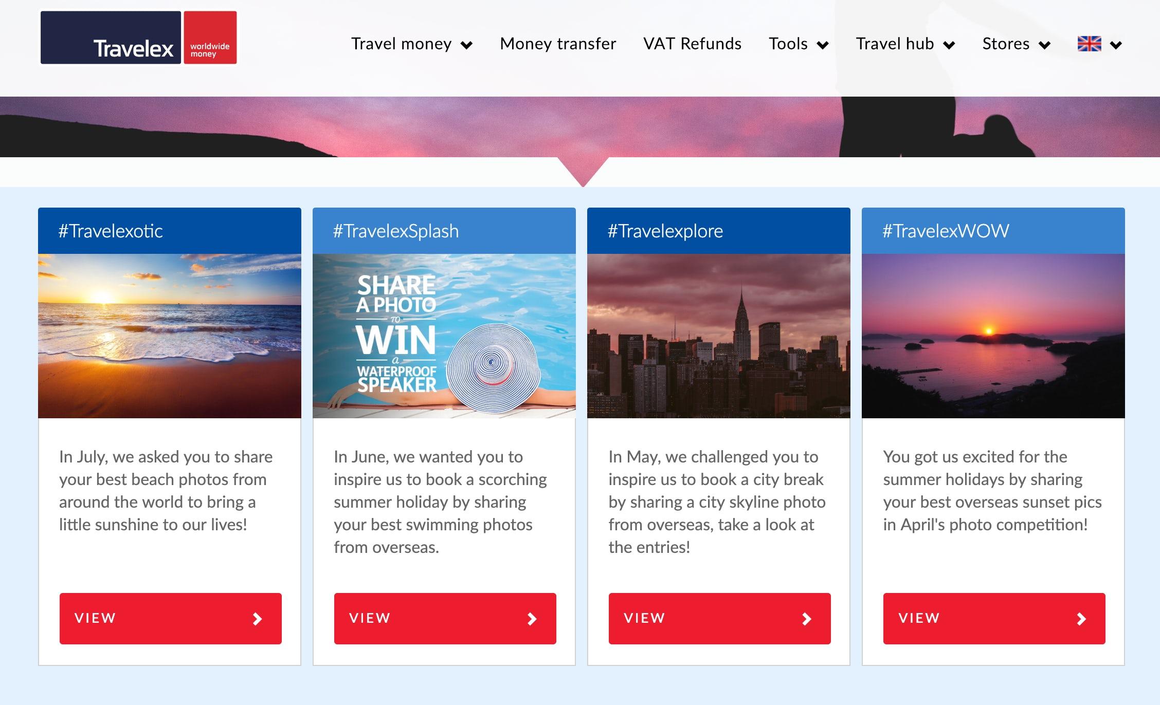Travelex UGC