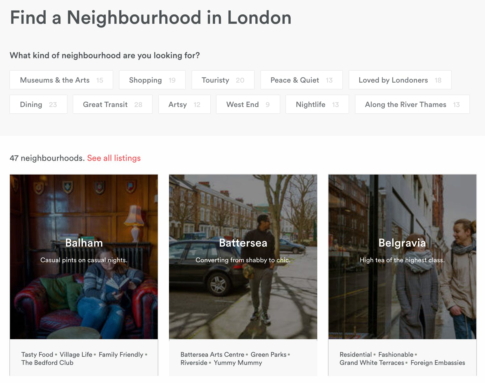 airbnb neighbourhood guides