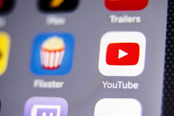Youtube App Icon on iPhone