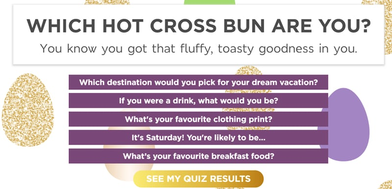 m&s which hot cross bun are you