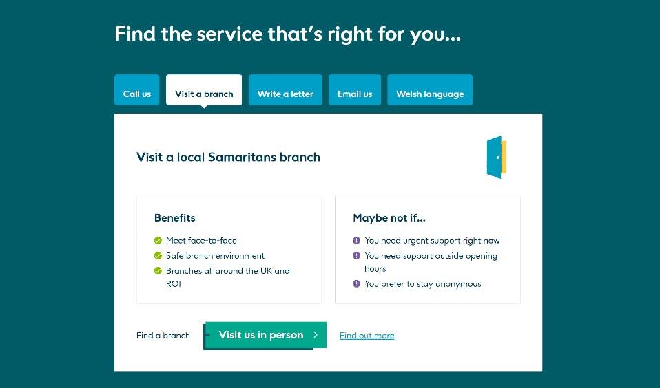 8 Samaritans find a service