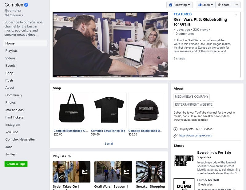 25 brilliant examples of Facebook brand pages – Econsultancy