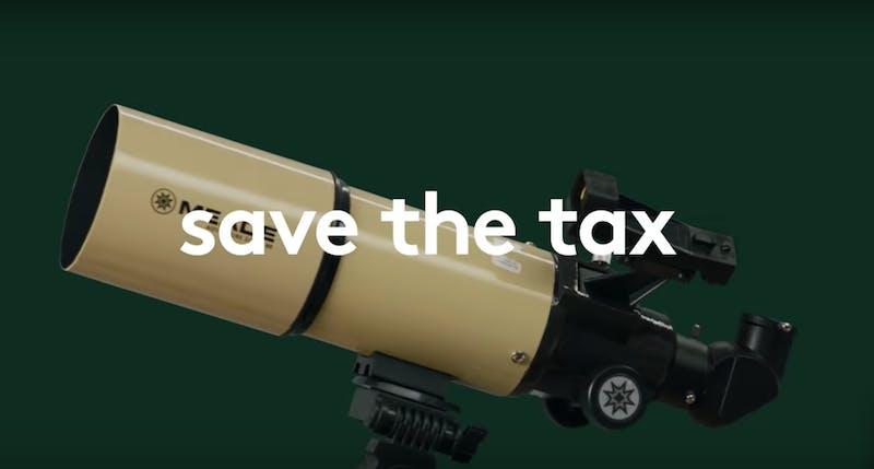 b & h save the tax
