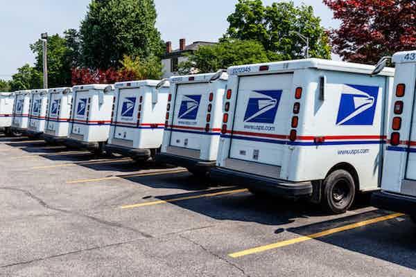 usps vans