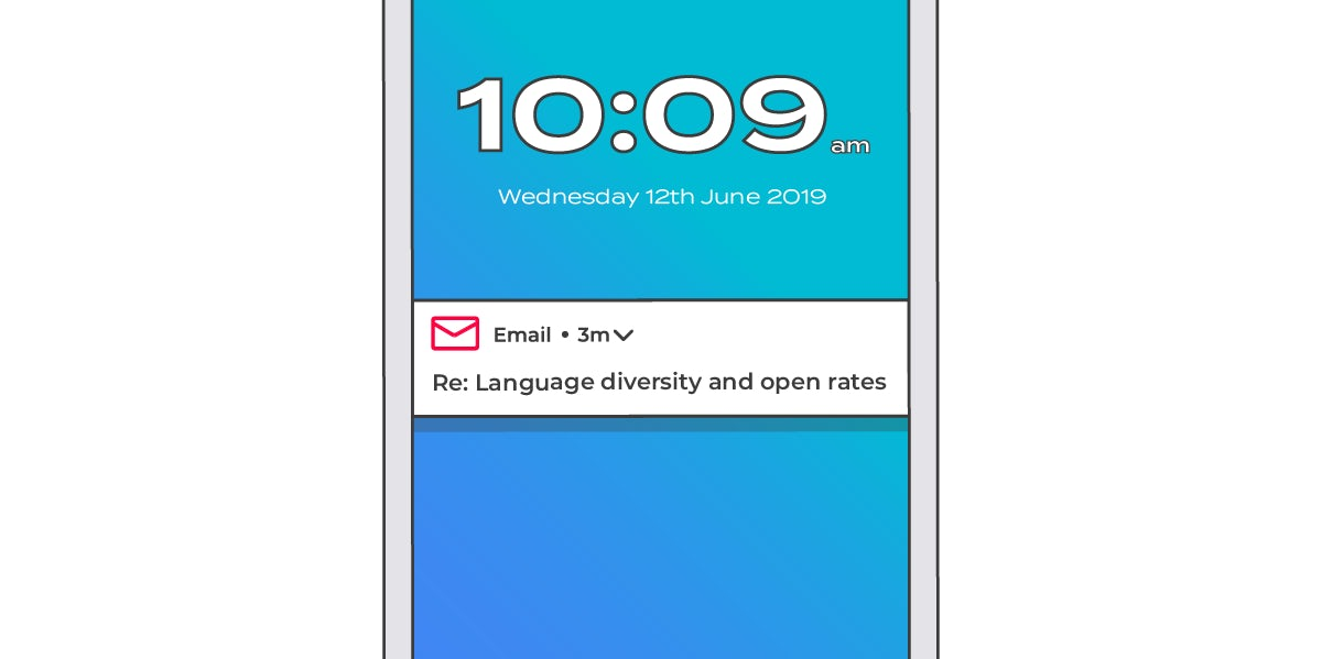 language diversity and open rates v2