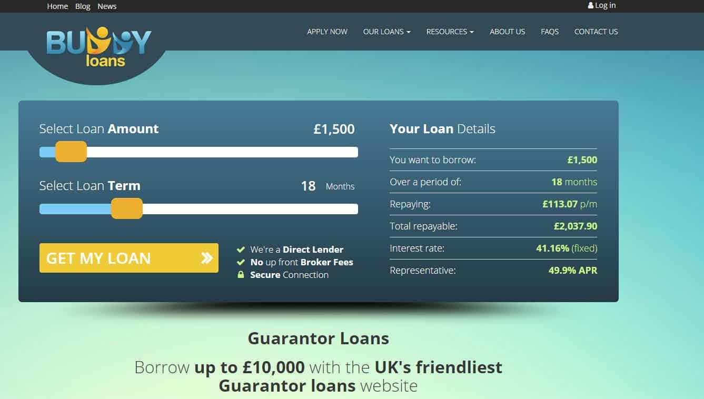 Buddy Loans screen shot