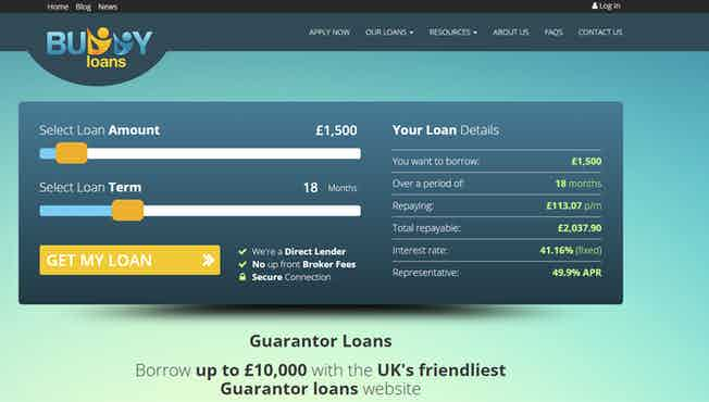 Buddy Loans screen shot