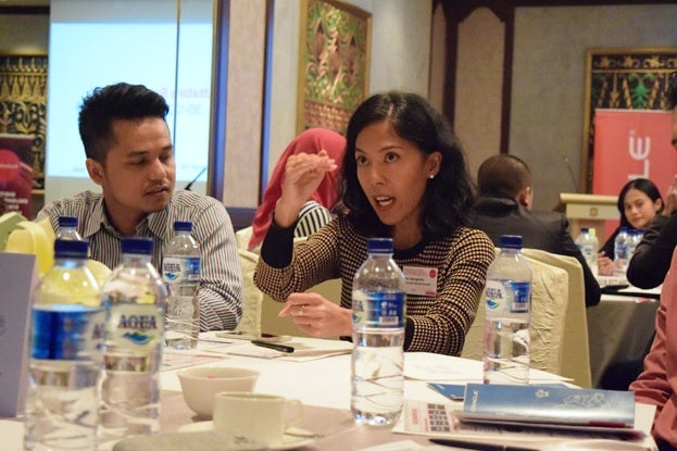 Attendees at the Oracle/Econsultancy roundtable in Jakarta