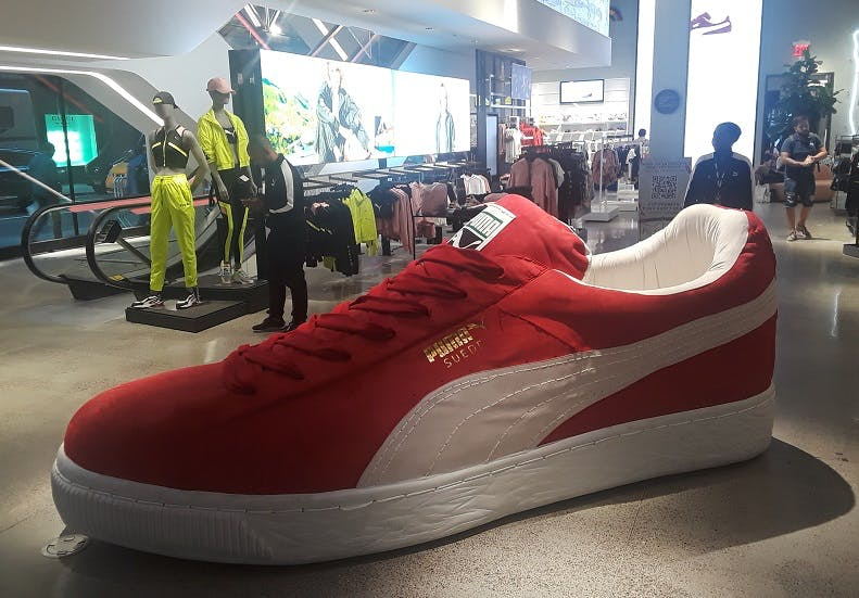 Does Puma\u0027s new NYC flagship store deliver on its