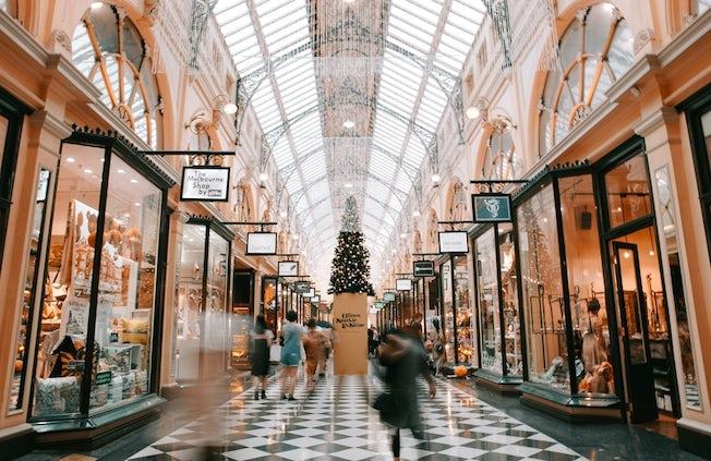 рождественские покупки