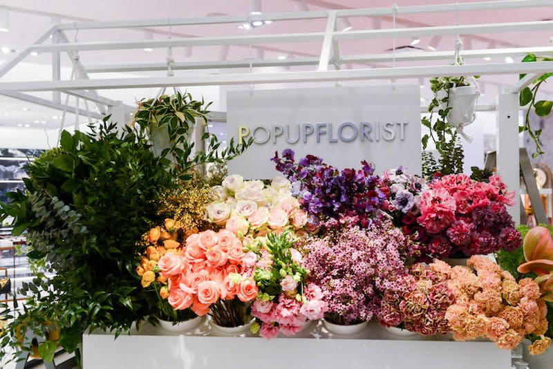 Neiman Marcus: Hudson Yards pop-up florist