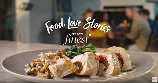 Tesco food love stories