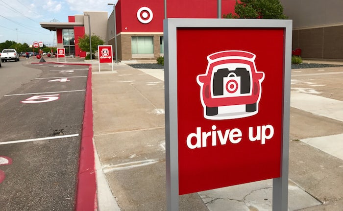 target drive up