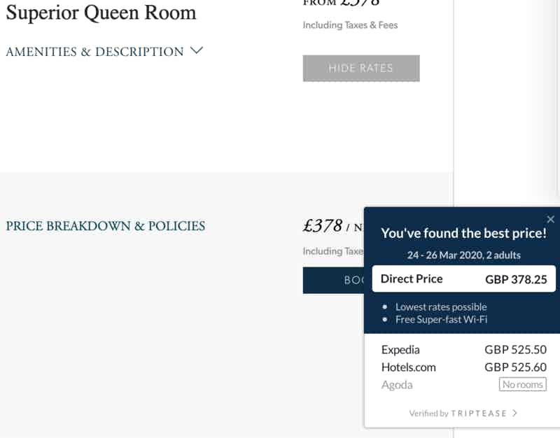 Six excellent hotel websites (and how they encourage direct booking) – Econsultancy 10