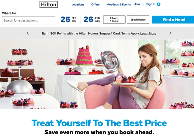 Six excellent hotel websites (and how they encourage direct booking) – Econsultancy 5