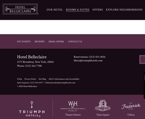 Six excellent hotel websites (and how they encourage direct booking) – Econsultancy 7