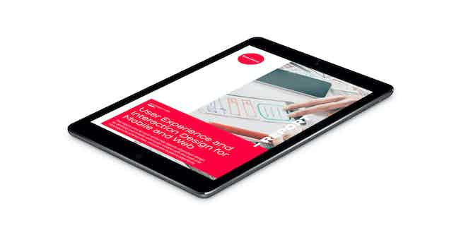 User Experience and Interaction Design for Mobile and Web Best Practice Guide Pack Shot