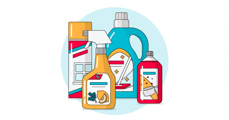 FMCG household and cleaning products