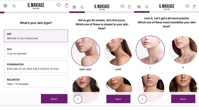 The Il Makiage PowerMatch Quiz