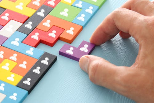 Tangram puzzle. Image: Shutterstock