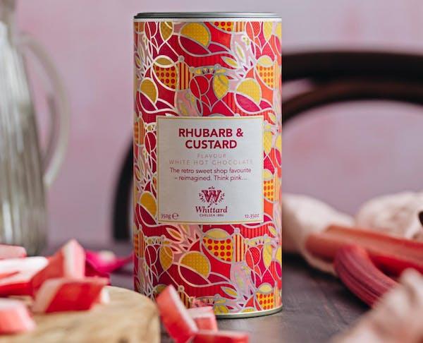 Whittards Rhubarb and Custard Hot Choloate. Image via: Whittards