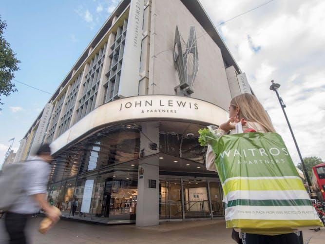 John Lewis & Partners Oxford Street. Image: John Lewis