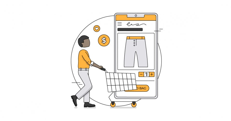 mobile ecommerce shopping